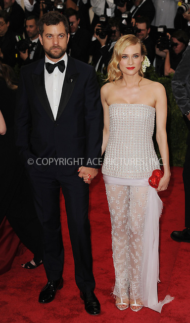 WWW.ACEPIXS.COM<br /> <br /> May 4, 2015, New York City<br /> <br /> Diane Kruger and Joshua Jackson attending the Costume Institute Benefit Gala celebrating the opening of China: Through the Looking Glass at The Metropolitan Museum of Art on May 4, 2015 in New York City.<br /> <br /> By Line: Kristin Callahan/ACE Pictures<br /> <br /> <br /> ACE Pictures, Inc.<br /> tel: 646 769 0430<br /> Email: info@acepixs.com<br /> www.acepixs.com
