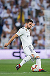Nacho Fernandez of Real Madrid in action during the La Liga 2018-19 match between Real Madrid and Getafe CF at Estadio Santiago Bernabeu on August 19 2018 in Madrid, Spain. Photo by Diego Souto / Power Sport Images