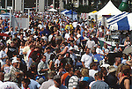 PEOPLE AT TASTE OF COLORADO FESTIVAL IN DENVER COLORADO
