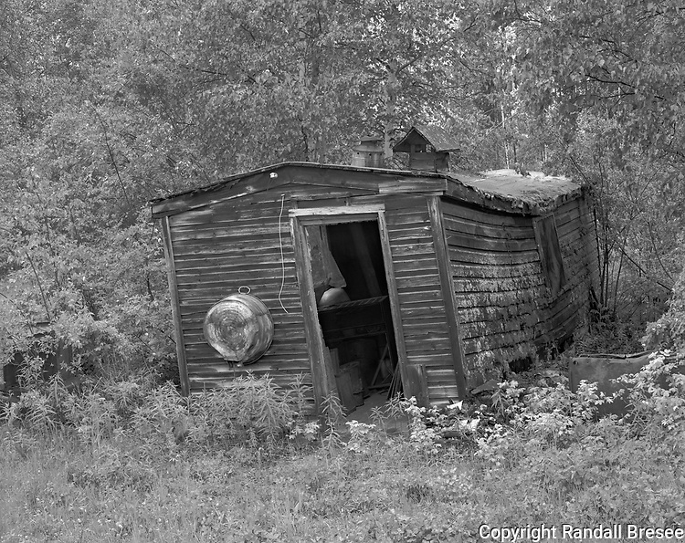 &quot;Cabin - F.E. Gold Camp&quot; Chatanika, Alaska<br />