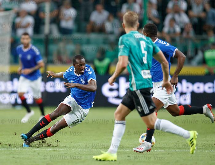 22.08.2019 Legia Warsaw v Rangers: Glen Kamara