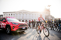 Carl Fredrik Hagen (NOR/Lotto-Soudal) at the start of the race<br /> <br /> 113th Il Lombardia 2019 (1.UWT)<br /> 1 day race from Bergamo to Como (ITA/243km)<br /> <br /> ©kramon