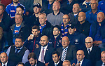 19.09.2019 Rangers v Feyenoord: Nikola Katic with Jon Flanagan and Ryan Kent in the stand