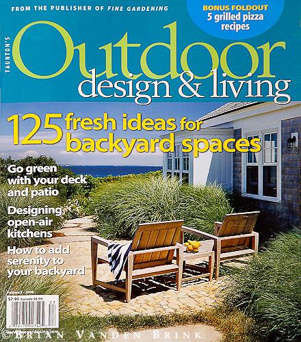 Taunton's Outdoor design & living, Vol 3 2008