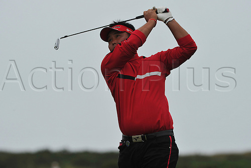 15/07/10  Ryuichi Oda (JPN) in action  on the Old Course , St  Andrews, Fife, Scotland in the first round of  British Open Championship