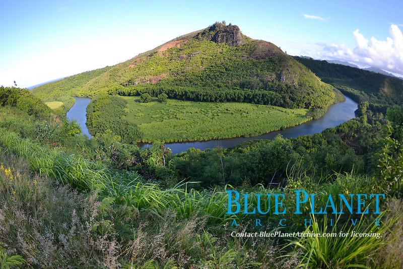 Wailua river, Kauai, Hawaii, USA