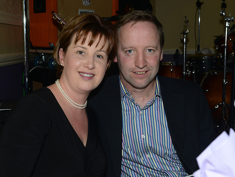 Patrick and Sandra Matthews pictured at the Cystic Fibrosis gala ball in the Grove Hotel Dunleer. Photo:Colin Bell/pressphotos.ie
