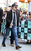 NEW YORK, NY - AUGUST 10: Robert Pattinson at AOL BUILD to promote the new film,  Good Time on August 10, 2017 in New York City. <br /> CAP/MPI/RW<br /> &copy;RW/MPI/Capital Pictures