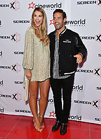 Spencer Matthews, Vogue Williams<br /> Launch party of Cineworld Group's new Korean-developed technology, using projections on the side of theatre walls to create a 270 degree viewing experience, at Cineworld Greenwich, The O2, London, England, UK.<br /> CAP/JOR<br /> &copy;JOR/Capital Pictures