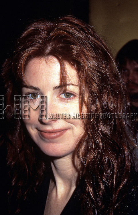 """Dana Delaney attending the closing performance of """"Translations"""" at the Plymouth Theatre in New York City in April of 1995."""