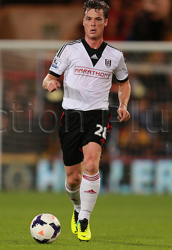 21.10.2013 London, England. Scott Parker in action during the Barclays Premier League fixture between Crystal Palace and Fulham from Selhurst Park