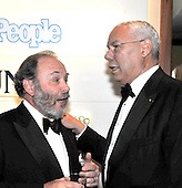 Washington, D.C. - May 9, 2009 -- Joe Klein, left, shares some thoughts with former United States Secretary of State Colin Powell, right, as they attend one of the parties prior to the White House Correspondents Dinner in Washington, D.C. on Saturday, May 9, 2009..Credit: Ron Sachs / CNP.(RESTRICTION: NO New York or New Jersey Newspapers or newspapers within a 75 mile radius of New York City)