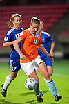 Manoe Meulen, Gaetane Thiney, QF, Holland-France, Women's EURO 2009 in Finland, 09032009, Tampere, Ratina Stadium.