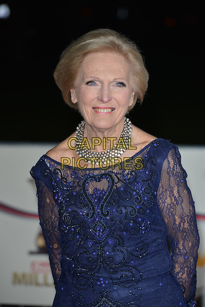 LONDON, ENGLAND - DECEMBER 10: Mary Berry attends A Night Of Heroes: The Sun Military Awards at National Maritime Museum on December 10, 2014 in London, England.<br /> CAP/PL<br /> &copy;Phil Loftus/Capital Pictures