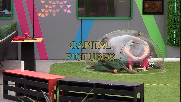 Audley Harrison, James Jordan<br /> in Celebrity Big Brother - Summer 2014 (Day 13)<br /> *Editorial Use Only*<br /> CAP/NFS<br /> Image supplied by Capital Pictures