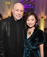 LOS ANGELES, CA - FEBRUARY 6:  Hector Elizondo and Krista Marie Yu attend the FOX Winter TCA 2019 All Star Party at The Fig House on February 6, 2019 in Los Angeles, California. (Photo by Scott Kirkland/Fox/PictureGroup)