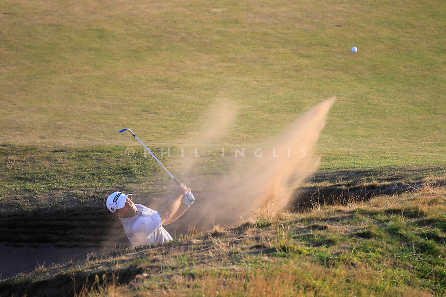 Ryan Armour (USA) during the first round of the 147th Open Championship played at Carnoustie Links, Angus, Scotland. 19/07/2018<br /> Picture: Golffile | Phil Inglis<br /> <br /> All photo usage must carry mandatory copyright credit ©Phil INGLIS)