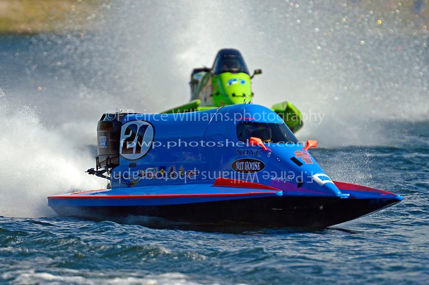 Jose Mendana, Jr. (#21) and Carlos Mendana (#27)  (Formula 1/F1/Champ class)