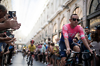 Michael Woods (CAN/EF Education First)<br /> <br /> Official 106th Tour de France 2019 Teams Presentation at the Central Square (Grote Markt) in Brussels (Belgium)<br /> <br /> ©kramon