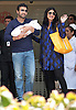 "SHILPA SHETTY LEAVES HOSPITAL WITH BABY.Bollywood actress and Big Brother contestant Shilpa Shetty together with husband Raj Kundra leave the Hinduja Healthcare Surgical Hospital in Mumbai with their newborn baby boy..The baby as yet unnamed was born on Monday..Shilpa's' London-based businessman husband Raj Kundra was besides Shilpa, 36, at the time of delivery_May 25, 2012.Mandatory Credit Photo: ©Pravin Utturkar-Solaris/NEWSPIX INTERNATIONAL..(Failure to credit will incur a surcharge of 100% of reproduction fees)..                **ALL FEES PAYABLE TO: ""NEWSPIX INTERNATIONAL""**..IMMEDIATE CONFIRMATION OF USAGE REQUIRED:.Newspix International, 31 Chinnery Hill, Bishop's Stortford, ENGLAND CM23 3PS.Tel:+441279 324672  ; Fax: +441279656877.Mobile:  07775681153.e-mail: info@newspixinternational.co.uk"
