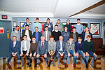 The under 21 Hurlers of Causeway who were presented with their medals at the Causeway GAA medal Presentation dinner dance in The Stretford End Causeway on Friday night.