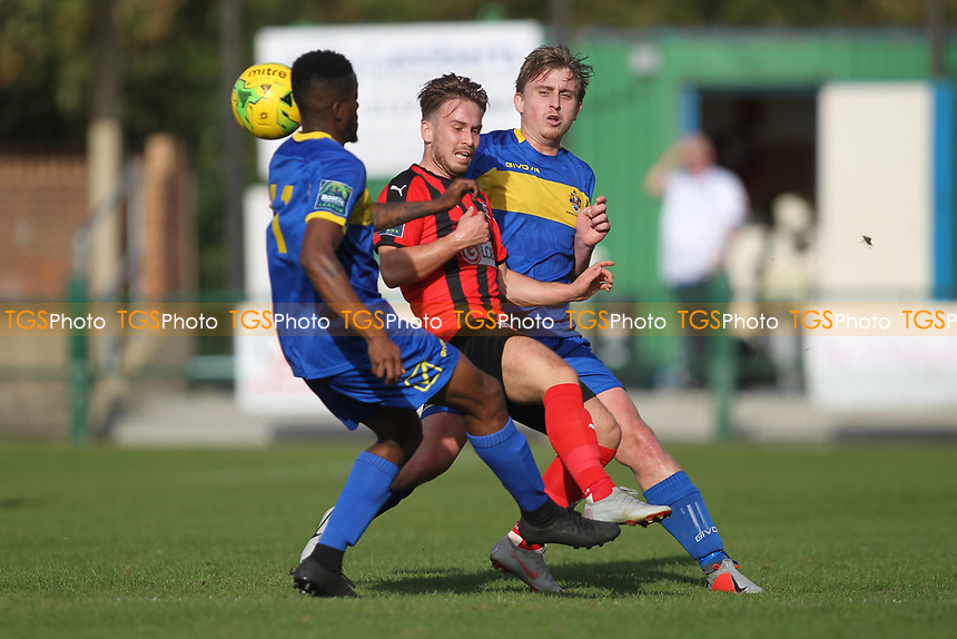 Max Bradford of Romford during Romford vs Coggeshall Town, Bostik League Division 1 North Football at Rookery Hill on 13th October 2018