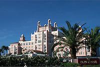 The regal Don Cesar Beach Resort & Spa on Tampa Bay, Florida's Gulf Coast. St. Petersburg, Florida.