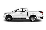 Car driver side profile view of a 2018 Mitsubishi L200 Intense 2 Door Pick Up