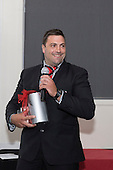 Steelers Defence Player of the Year Sean Bagshaw. Counties Manukau Rugby Unions Senior Prize giving held at ECOLight Stadium Pukekohe on Wednesday November 2nd, 2016.<br /> Photo by Richard Spranger.