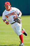 8 March 2006: Josh Labandeira, infielder for the Washington Nationals, playing second base during a Spring Training game against the St. Louis Cardinals. The Cardinals defeated the Nationals 7-4 in 10 innings at Space Coast Stadium, in Viera, Florida...Mandatory Photo Credit: Ed Wolfstein.