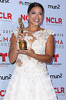 PASADENA, CA - SEPTEMBER 27: Gina Rodriguez poses in the press room during the 2013 NCLR ALMA Awards held at Pasadena Civic Auditorium on September 27, 2013 in Pasadena, California. (Photo by Xavier Collin/Celebrity Monitor)