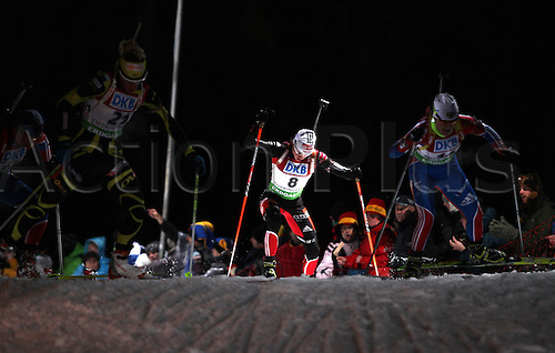 09.01.2011 IBU World Cup Biathlon from Oberhof Germany. Picture shows Andrea Henkel ger.