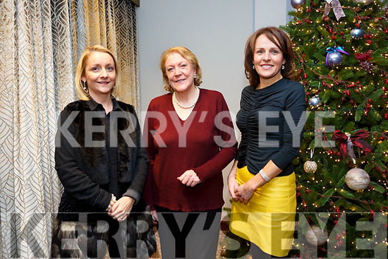 At the Launch of 'A Christmas Hug' CD in aid of Inspired at The Rose Hotel on Friday. Pictured Lisa Gainey, Mary Dolan, Sandra Leahy