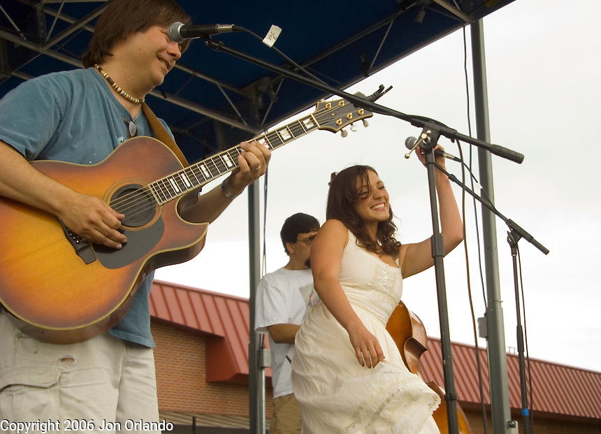 Members of the Arthur Lee Land Band perform at the SOBO music festival in south Boulder on June 3, 2006.