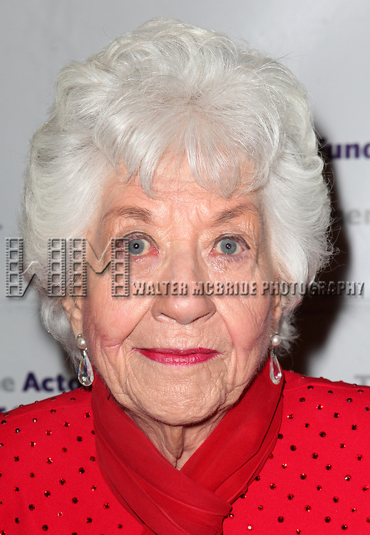 Charlotte Rae.attending the Actors Fund Gala honoring Harry Belafonte, Jerry Stiller, Anne Meara & David Steiner at the Mariott Marquis Hotel in New York City on 5/21/12