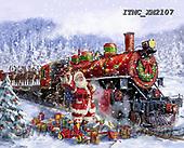 Marcello, CHRISTMAS SANTA, SNOWMAN, WEIHNACHTSMÄNNER, SCHNEEMÄNNER, PAPÁ NOEL, MUÑECOS DE NIEVE, paintings+++++,ITMCXM2107,#X#
