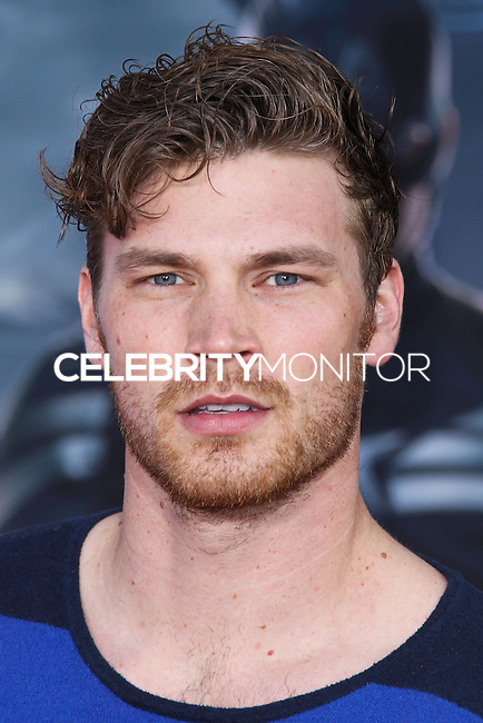 """HOLLYWOOD, LOS ANGELES, CA, USA - MARCH 13: Derek Theler at the World Premiere Of Marvel's """"Captain America: The Winter Soldier"""" held at the El Capitan Theatre on March 13, 2014 in Hollywood, Los Angeles, California, United States. (Photo by Xavier Collin/Celebrity Monitor)"""