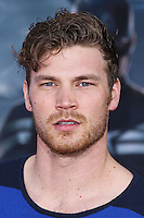 "HOLLYWOOD, LOS ANGELES, CA, USA - MARCH 13: Derek Theler at the World Premiere Of Marvel's ""Captain America: The Winter Soldier"" held at the El Capitan Theatre on March 13, 2014 in Hollywood, Los Angeles, California, United States. (Photo by Xavier Collin/Celebrity Monitor)"