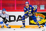 Stockholm 2014-05-03 Ishockey Oddset Hockey Games  Sverige - Finland :  <br /> Sveriges Andreas Thuresson i aktion <br /> (Foto: Kenta J&ouml;nsson) Nyckelord:  Oddset Hockey Games Sverige Swe Tre Kronor Finland Fin Globen Ericsson Globe Arena