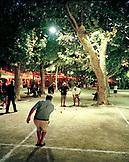 FRANCE, men playing pentaque, Saint Tropez