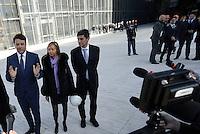 Roma, 2 Marzo 2016<br /> Matteo Renzi<br /> Il Presidente del Consiglio visita il cantiere della Nuvola di Fuksas