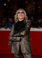 "L'attrice italiana Lunetta Savino posa durante il red carpet per la presentazione del film ""Motherless Brooklyn"" alla 14^ Festa del Cinema di Roma all'Aufditorium Parco della Musica di Roma, 17 ottobre 2019.<br /> Italian actress Lunetta Savino poses during the red carpetl to present the movie ""Motherless Brooklyn"" during the 14^ Rome Film Fest at Rome's Auditorium, on 17 october 2019.<br /> UPDATE IMAGES PRESS/Isabella Bonotto"