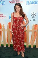 LOS ANGELES, CA - FEBRUARY 03: Alexandra Vino at the premiere of Columbia Pictures' 'Peter Rabbit' at The Grove on February 3, 2018 in Los Angeles, California. <br /> CAP/MPI/DE<br /> &copy;DE//MPI/Capital Pictures