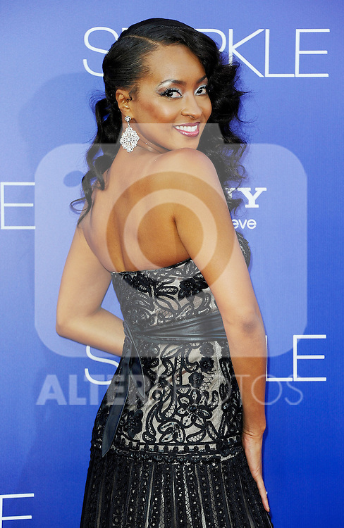 Jennia Fredrique, Red carpet at The Premiere of Sparkle at Graumans Chinese Theatre in Hollywood California.. /NOrtePHOTO.COM.... **CREDITO*OBLIGATORIO** *No*Venta*A*Terceros*..*No*Sale*So*third* ***No*Se*Permite*Hacer Archivo***No*Sale*So*third*