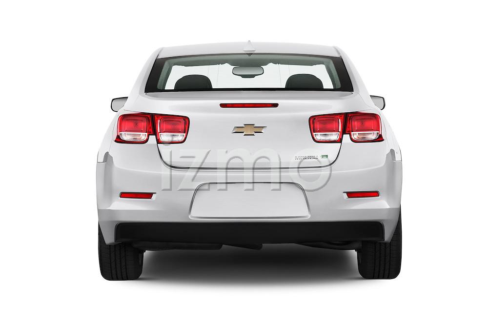Straight rear view of a 2013 Chevrolet Malibu ECO 1SA
