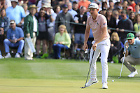 Cameron Smith (AUS) on the 2nd green during the 3rd round of the Waste Management Phoenix Open, TPC Scottsdale, Scottsdale, Arisona, USA. 02/02/2019.<br /> Picture Fran Caffrey / Golffile.ie<br /> <br /> All photo usage must carry mandatory copyright credit (© Golffile | Fran Caffrey)