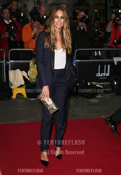 Yasmin Le Bon arriving for the 2011 GQ Awards, Royal Opera House, London. 06/09/2011  Picture by: Alexandra Glen / Featureflash
