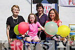 WIN: Win a bicycle on Pattern Day in Castlegregory helping to sell ticket for Cherboynal, L-r: Rose Kelliher, Claire Mulcahy,Bernie O'Brien and Bernadette Boland..