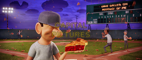 SCENE with Raining pie.in Cloudy with a Chance of Meatballs.*Filmstill - Editorial Use Only*.CAP/FB.Supplied by Capital Pictures.