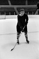 Guy Lafleur a l'entrainement<br /> , Entre le 14 et le 20 octobre 1968<br /> <br /> Photographe : Photo Moderne<br /> <br /> - Agence Quebec Presse
